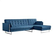 Palomino Sofa Bed Right Blue