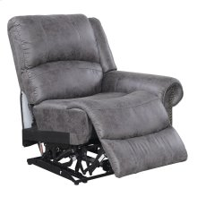 Rsf Power Recliner W/usb Outlet-pu Charcoal