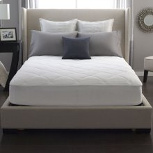 Twin Restful Nights® 100% Cotton Mattress Pad