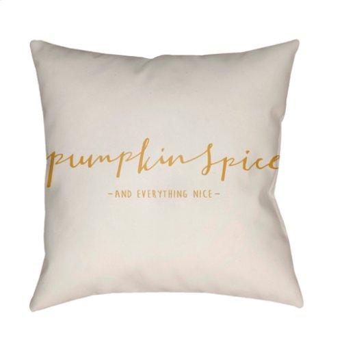 "Pumpkin Spice PKN-004 20"" x 20"""
