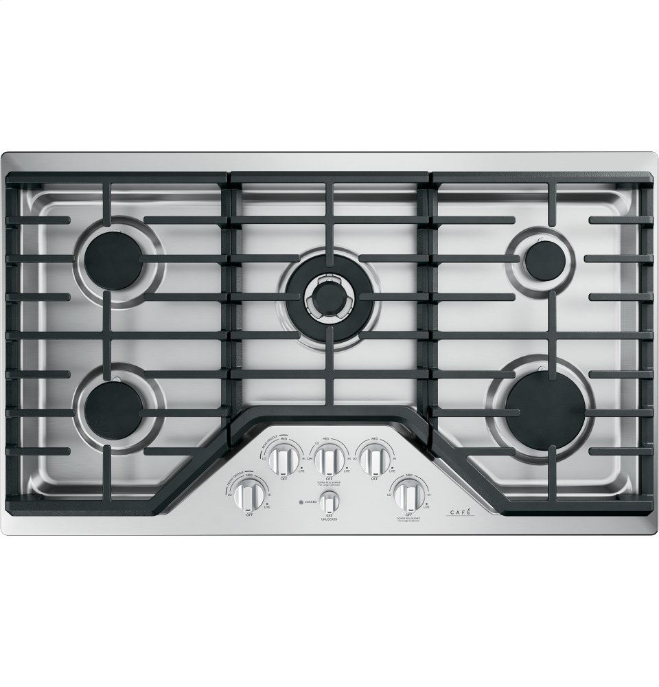 "Caf(eback) 36"" Built-In Gas Cooktop