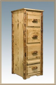 Glacier Country Log File Cabinet