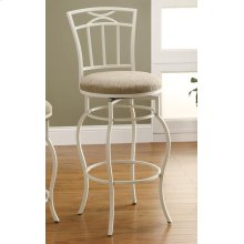 Casual Cream Bar Height Chair