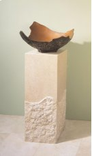 Roma Pedestal Papiro Cream Marble Product Image