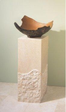 Roma Pedestal Papiro Cream Marble