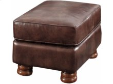 Dynamic Mocha Rectangular Ottoman