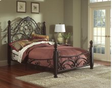 1195Q  Diana Metal Bed