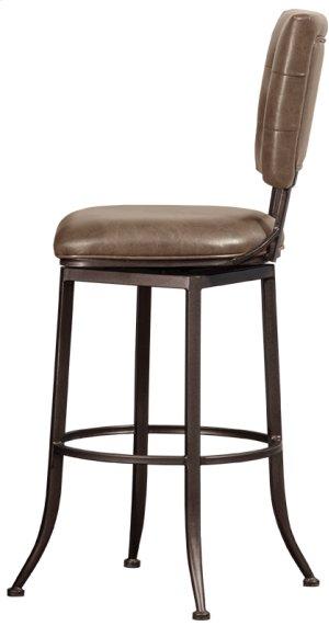Caslan Commercial Grade Swivel Bar Stool