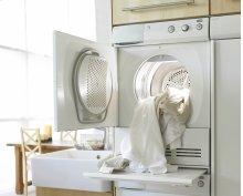 Sensor controlled venting dryer