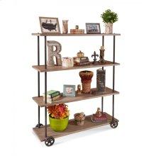 14753 Cartwright Industrial Moblie Bookshelf - RTA Item