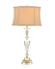 Crystal Swirl Lamp