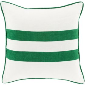"Linen Stripe LS-006 22"" x 22"" Polyester Filler"