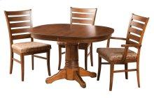 """42/48-2-12"""" Leaf Square Round Jumbo Pedestal Table"""