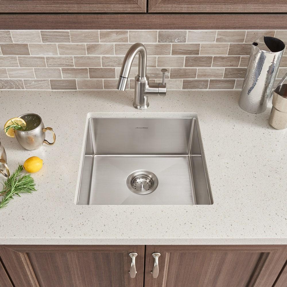 Pekoe 17x17 Stainless Steel Kitchen Sink American