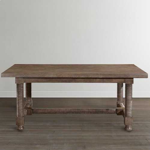 "Compass 94"" Trestle Dining Table"