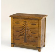 Sequoia 3 Drawer Dresser