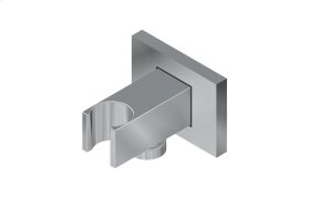 Square Handshower Wall Bracket with Integrated Wall Supply Elbow