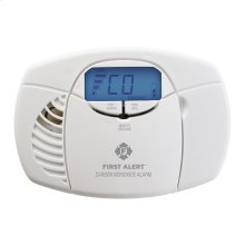 Battery-Operated Carbon Monoxide Alarm with Backlit Digital Display