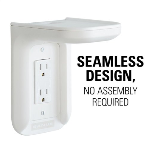 White SANUS Outlet Shelf
