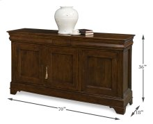 Cafe Au Lait Buffet, Walnut