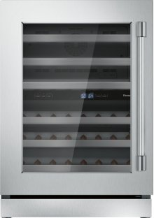 24 inch UNDER-COUNTER WINE RESERVE WITH GLASS DOOR T24UW920LS