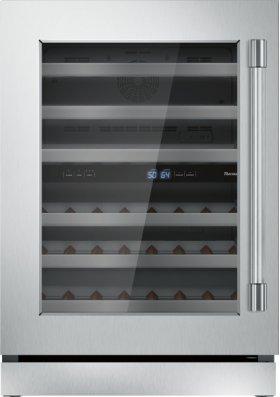 24 inch UNDER-COUNTER WINE RESERVE WITH GLASS DOOR T24UW920LS