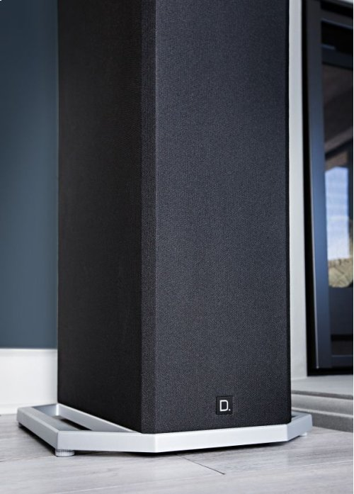 """High-Performance Tower Speaker with Integrated 12"""" Powered Subwoofer and Height Module"""