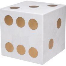 Hustle Dice Accent Table