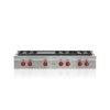 "Wolf 48"" Sealed Burner Rangetop - 6 Burners And Infrared Griddle"