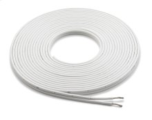 380 ft (115.8 m) Spool of White 12 AWG, Parallel Conductor Speaker Cable