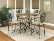 Sunset Trading 5 Piece Vail Counter Height Dining Set Product Image