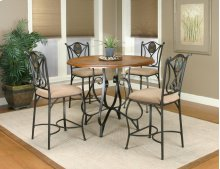 Sunset Trading 5 Piece Vail Counter Height Dining Set