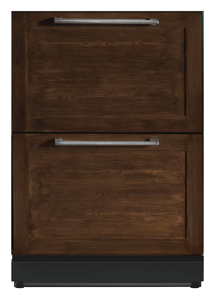 T24ur800dp Thermador 24 3 16 Under Counter Double Drawer Refrigerator