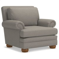 Brennan Premier Stationary Chair w/ Brass Nail Head Trim Product Image