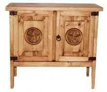 2 Door Night Stand W/ Star (with Star)