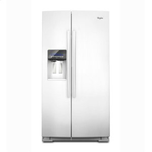 WhirlpoolGold® 25 cu. ft. Counter Depth Side-by-SideRefrigerator