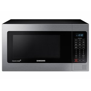 Samsung1.1 cu. ft Countertop Microwave with Grilling Element in Stainless Steel