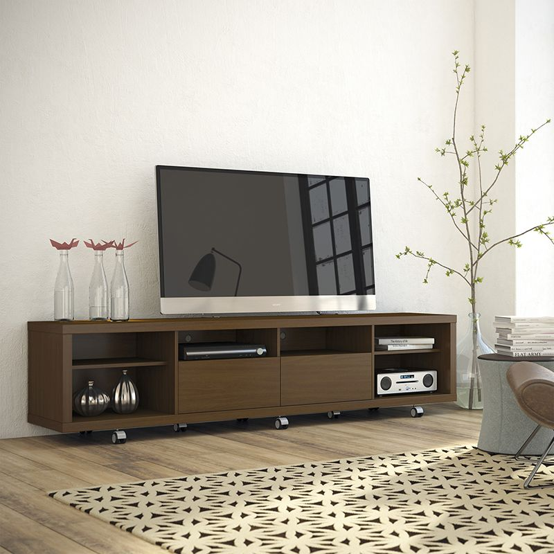 Cabrini TV Stand 2.2 in Nut Brown