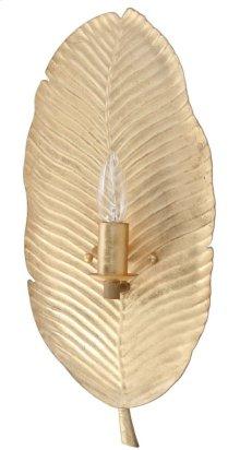 Calandra Wall Sconce - Gold Leaf