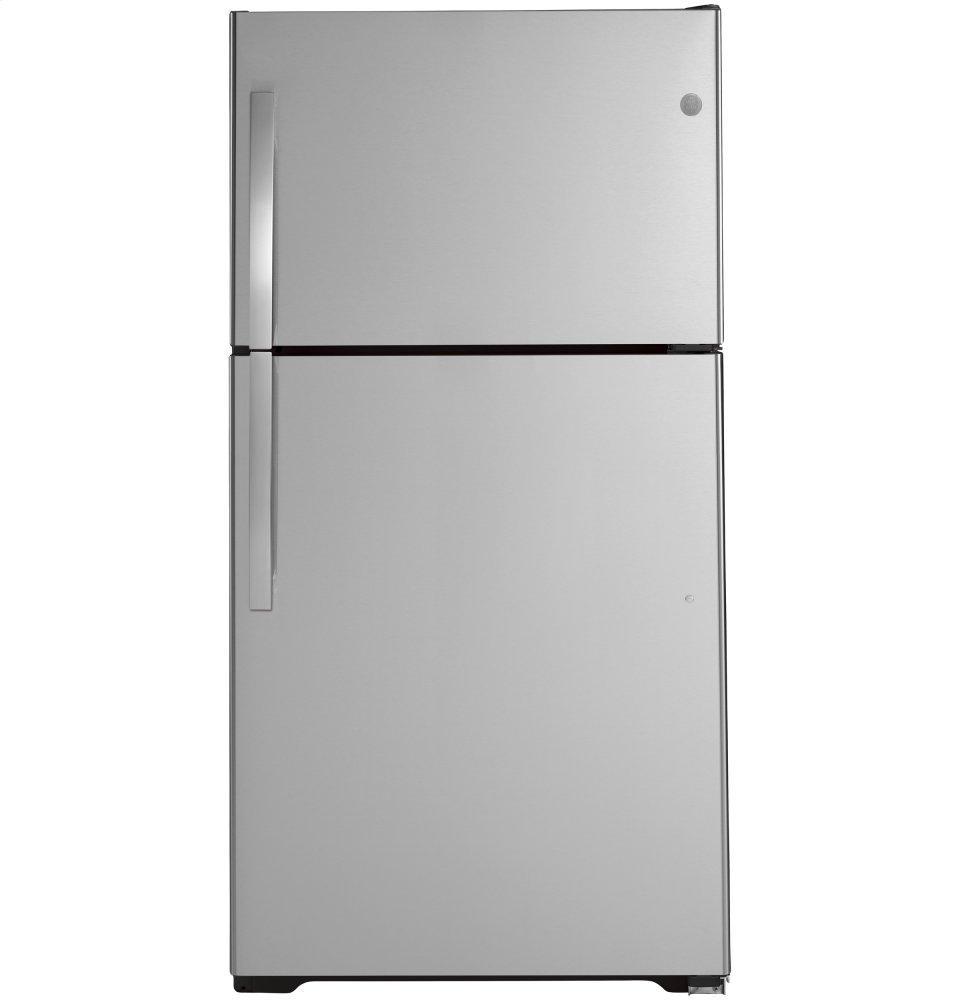 GEEnergy Star® 21.9 Cu. Ft. Top-Freezer Refrigerator