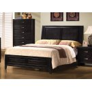 Nacey Dark Brown Queen Bed Product Image