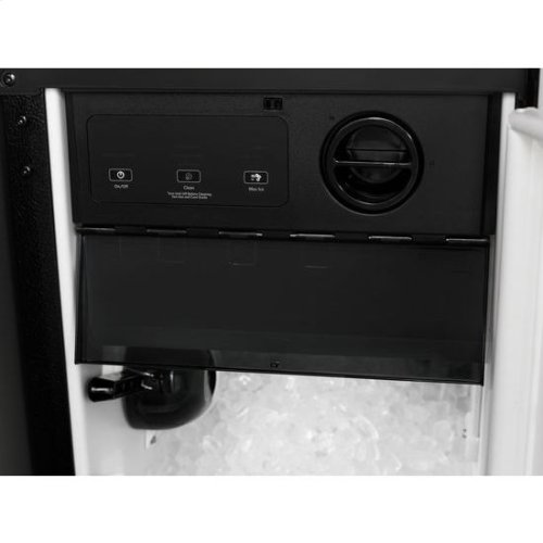 "Panel-Ready 15"" Under Counter Ice Machine with Factory Installed Drain Pump"