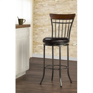 Hillsdale FurnitureCameron Spoke Back Swivel Counter Stool