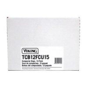 """15"""" Trash Compactor Bags & Ties (12 per pack)"""