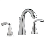 Fluent Two-Handle Widespread Bathroom Faucet - Polished Chrome