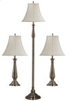 Banister - 3-Pack - 2 Table Lamps, 1 Floor Lamp