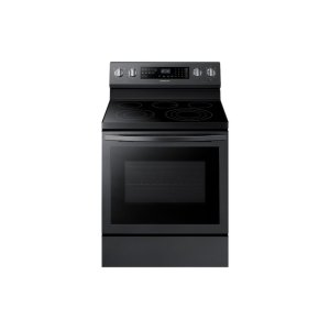 Samsung Appliances5.9 cu. ft. Freestanding Electric Range with True Convection in Black Stainless Steel