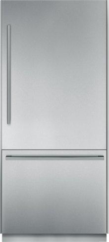 36 inch Pre-Assembled Built-In Bottom-Freezer T36BB810SS