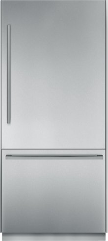 36 inch Pre-Assembled Built-In Bottom-Freezer T36BB810SS