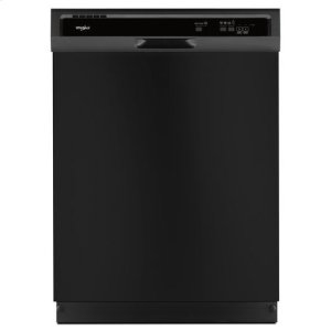 Whirlpool(R) Heavy-Duty Dishwasher with 1-Hour Wash Cycle - Black - BLACK